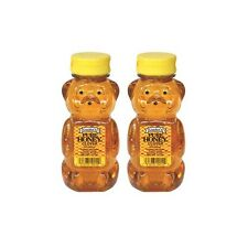 SweetGourmet Gunter's Pure Clover Honey Bears, 12oz - Pack of 2 - FREE SHIPPING!