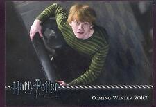 HARRY POTTER AND THE DEATHLY HALLOWS-PART 1 2010 ARTBOX PROMO CARD 01