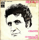"""7"""" GILBERT BECAUD chante (canta) 45 SINGLE SPANISH 1972 et le spectacle continue"""