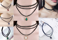 Gothic 7 Designs Choker Victorian Stud Rivet Collar Retro Necklace UK Seller