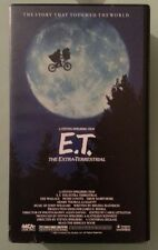 ET the extra-terrestrial VHS VIDEOTAPE rare complimentary AI rent a car edition