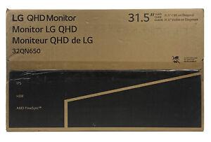 "LG 32QN650-B 32"" QHD 1440p IPS Monitor with HDR10, AMD FreeSync, Dual HDMI"