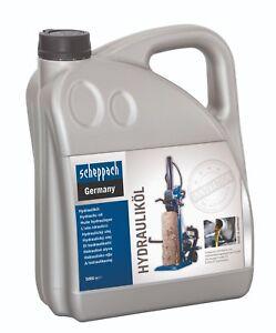 scheppach Hydrauliköl 5 Liter Holzspalteröl Spalter Kurz - Langholzspalter Öl