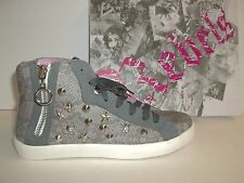 Rebels Size 7 M Cash Grey Snake High Top Sneakers New Womens Shoes