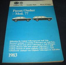 Ersatzteilkatalog Bildkatalog VW Passat B1 Typ 32 / Dasher bis Baujahr 1977!