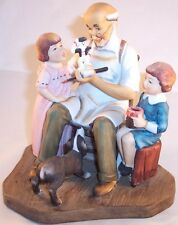 "Norman Rockwell ""The Toymaker"" Figurine, Collector's Club, 1980"