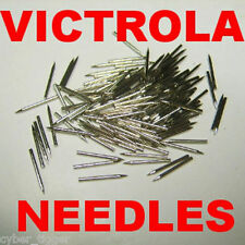 300 SOFT, MED, LOUD Gramophone NEEDLES fit Victor Victrola and Other Phonographs