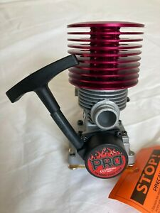 tThunder tiger eb4 s3 1/8 scale engine, buggy, truggy, monster truck,
