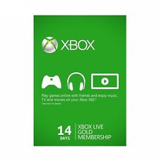 X BOX LIVE 14 Days Gold Subscription For (X box One/360)- FAST Dispatch