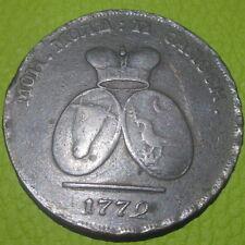"""WALLACHIA 1772 MOLDAVIA  2 PARA """"SCARCE"""" (P627)"""