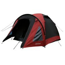 North Gear Camping 2 Man Blackout Waterproof Tent, Red