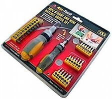 Amtech 30pc Stubby & Mini Ratchet Driver Set L1245