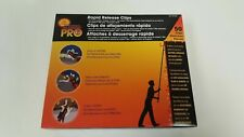 New in Box No Ladder Pro Rapid Release 50 Holiday Lights Gutter Clips [15 cases]