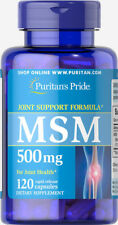 Puritan's Pride MSM 500 mg - 120 Capsules (free shipping)