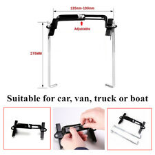 Adjustable Battery Retaining Holding Clamp Bracket Bolt Tie Hold Down For Car