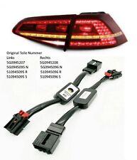 Semi Dynamische Blinker LED Heckleuchte Adapter Modul für Golf 7 6 e-Golf