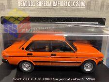 Coche Clásico Seat 131 Supermirafiori CLX 2000 (1980) Esc 1:24 (TEST SALVAT nº3)