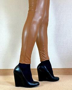 Rattenscharfe Wedges High Heels Pumps 13 cm Absatz Gr. 42