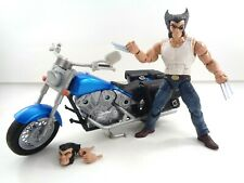 """Marvel Legends Ultimate Wolverine and Motorcycle 6"""" Complete Hasbro 2017 X-Men"""