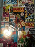 Warlock and the infinity watch  1 2 3 4 5 lot