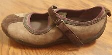 Merrell Circuit MJ brown leather womens mary jane shoes size 8