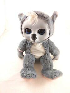 "Animal Babies Nursery 2014 Jakks Pacific 12"" Koala Plush, working electronics"