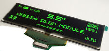 "5.5"" inch OLED green 5664ASGGF01 25664 dot matrix OLED display"