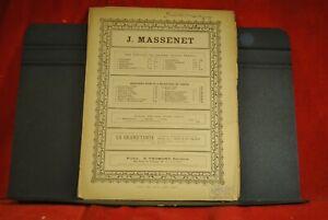 partition J MASSENET  - MELODIE ELEGIE  pour VIOLONCELLE et piano