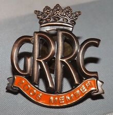 2006 Goodwood Road Racing Club grrc membres Enamel Pin Badge FOS Revival 250 GTO