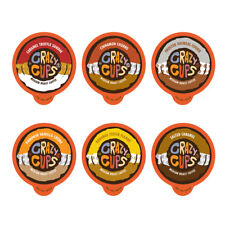 24-count Crazy Cups Flavored Coffee Single Serve Cups for Keurig K Cups Sampler