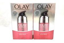 2 Olay Regenerist Micro-Sculpting Serum Advanced Anti-Aging 1.7 oz Each