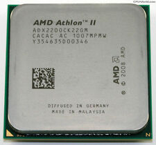AMD Athlon II x2 220, am2+ am3, 2,8 GHz, bus de sistema de 2000, 1 MB de l2, adx220ock22gm, 65 W