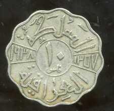 IRAQ  10 fils 1938  nickel