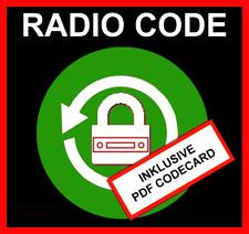 █►RADIO CODE passend für Jaguar 9000 Premium Sound S-Type UNLOCK SERIAL: M...
