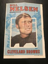 1971 Topps Bill Nelson Collectible Poster