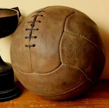 Vintage 1950's Leather Football. Nice Display Lace Soccer Ball