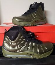 "NEW AUTHENTIC NIKE AIR BAKIN' POSITE ""OLIVE"" MENS US 11.5"