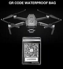 qr code dji mavic mini pro busta waterproof porta sticker
