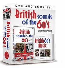 BRITISH SOUNDS OF THE 60's BOOK AND DVD GIFT SET SMOKE YARDBIRDS TROGGS & MORE