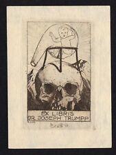 19)Nr.093- EXLIBRIS- Adolf Kunst, Tod / death