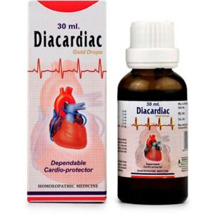 Dr. Bhargava Diacardiac Drops (30ml) Effective in Palpitation, Anxiety,