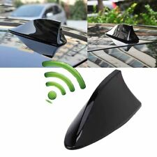 All Black Aerial Antenna Auto Roof AM/FM Radio Signal Extends For Mitsubishi ASX