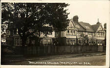 Westcliff on Sea. Holmwood College.