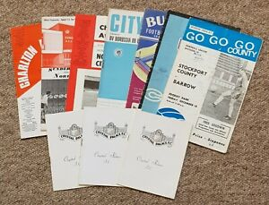 10 1960's Football Programmes – Various Clubs – 1963-1968 – All Listed