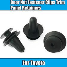 10x Clips pour Toyota Lexus Capot Isolation Fastener Retenue TRIM CLIPS