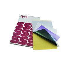 1 pg TATTOO Stencil Paper USA SELLER Violet SPIRIT Carbon Transfer ART Design
