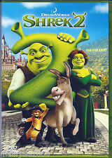 Shrek 2 (2004) DVD NUOVO SIGILLATO ORIGINAL cartoni animati Animazione 1° Stampa