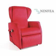 Poltrona anziani disabili Reclinabile 2 Motori Ninfea Con Roller System Moretti