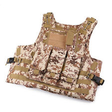 Nice ARMY TACTICAL AIRSOFT PAINTBALL BODY ARMOR HUNTING VEST WOODLAND CAMO CP