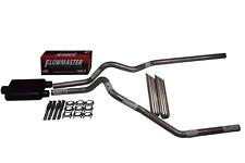 "Chevy Silverado GMC Sierra 15-18 2.5"" Dual exhaust Flowmaster Super 44 weld tips"